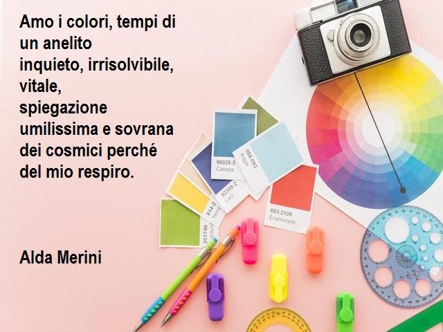 voglio vivere a colori frasi