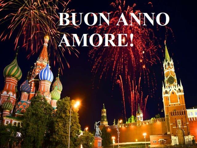 auguri di buon anno d'amore