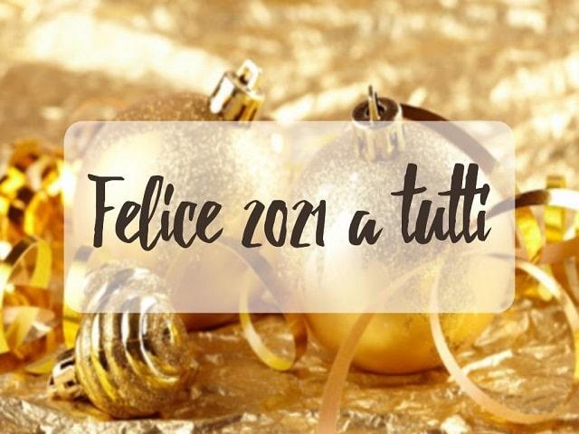 Buon Anno in inglese