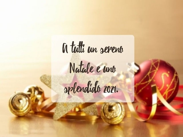 tanti auguri di Buon Anno