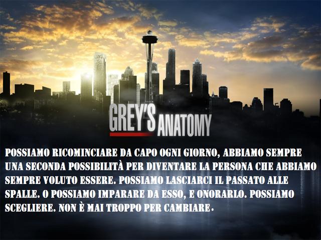 Frasi Grey's Anatomy