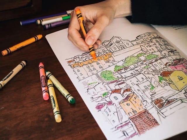 regali natale donna coloring book