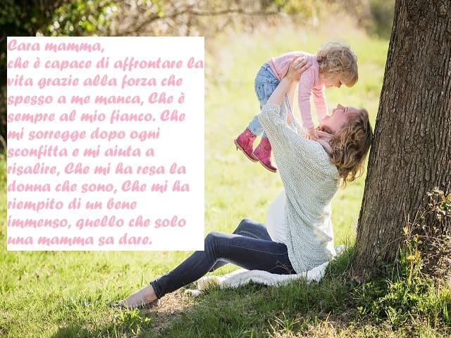 lettera a mamma speciale