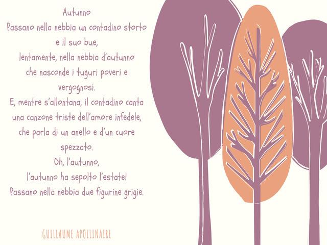 autunno poesie