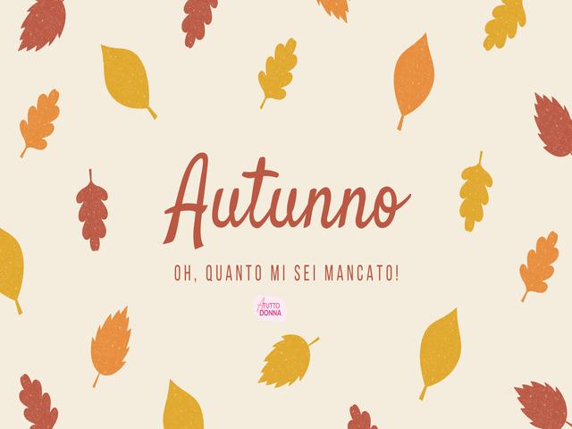 citazioni sull autunno