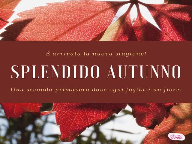 frasi belle autunno