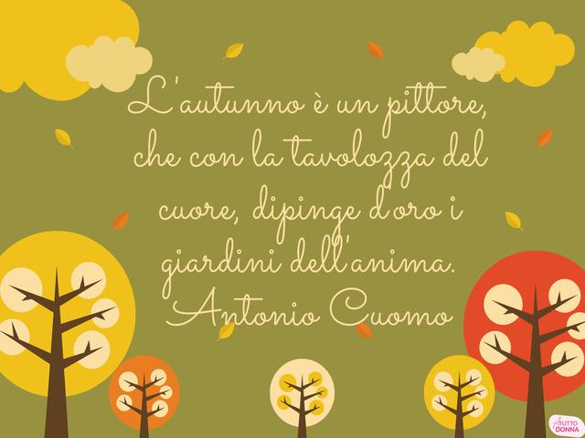 proverbi sull autunno