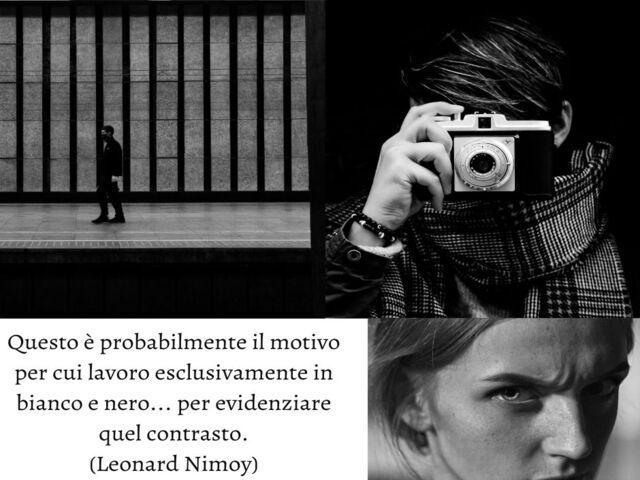 foto in bianco e nero frasi