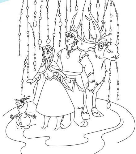 Anna, Olaf e Swen