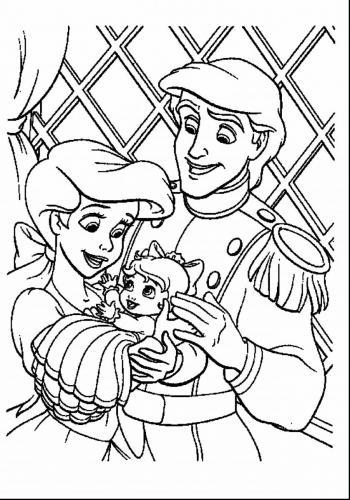 Ariel e Eric con la figlia
