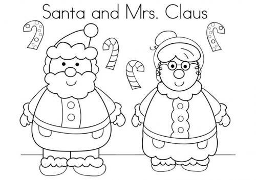 Babbo Natale e consorte