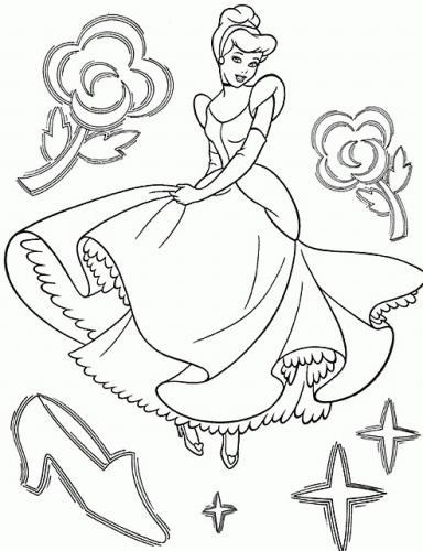 Cenerentola con disegni