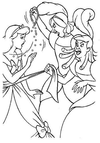 Cenerentola litiga con le sorellastre