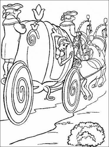 Cenerentola nella carrozza