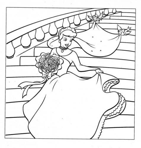 Cenerentola vestita da sposa