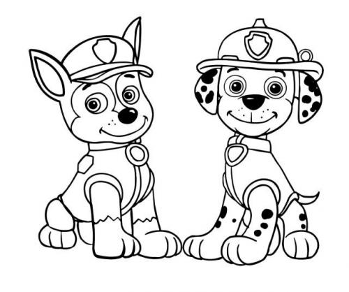 Paw Patrol - Chase e Marshall