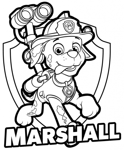 Paw Patrol - Marshall