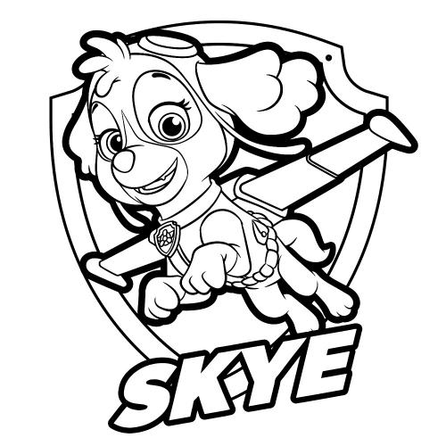 Paw Patrol - Skye