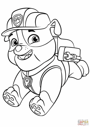 Paw Patrol - Rubble