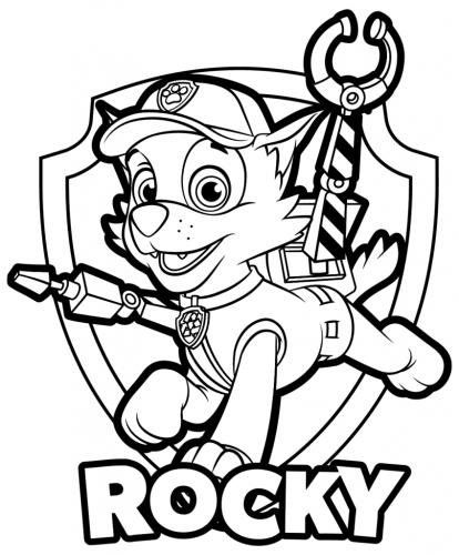 Paw Patrol - Rocky
