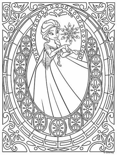 Elsa in una cornice