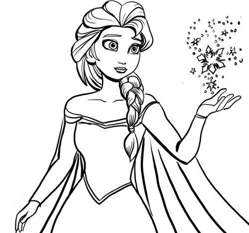 Elsa fa una magia