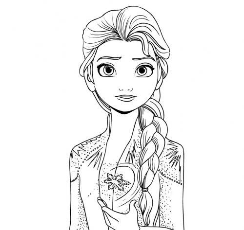Elsa diFrozen