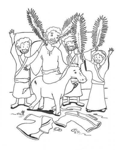 Gesù entra in città
