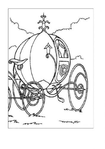La zucca trasformata in carrozza