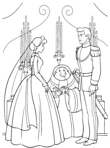Il matrimonio tra Cenerentola e il principe