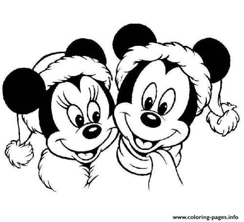 Minnie e Topolino a Natale