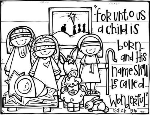 Gesù. Giuseppe, Maria, il pastore e le pecorelle