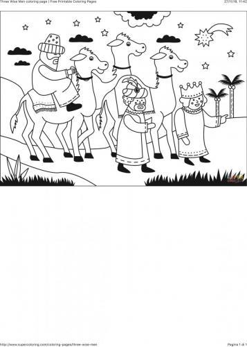 Re Magi con cammelli