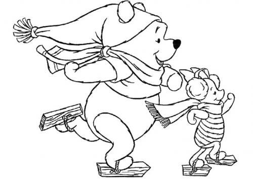 Winnie the pooh scia con Pimpi