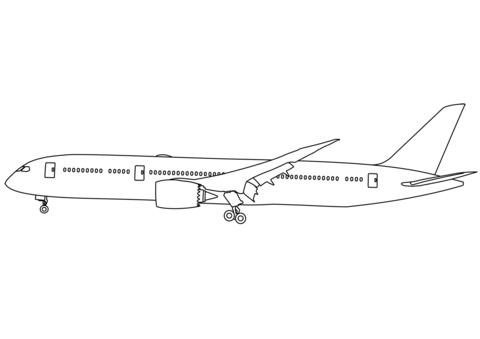 aerei disegnati