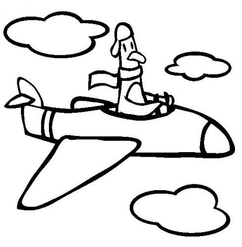 aerei disegni da colorare