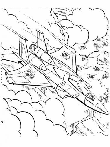 aerei militari da colorare