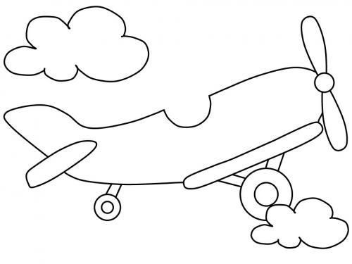 aereo immagini per bambini
