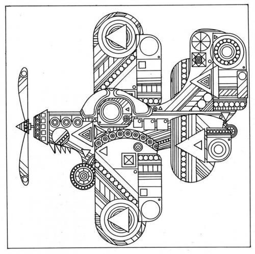 aereo stilizzato