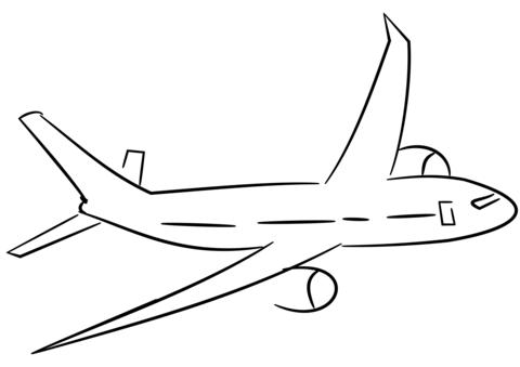 aeroplano disegno
