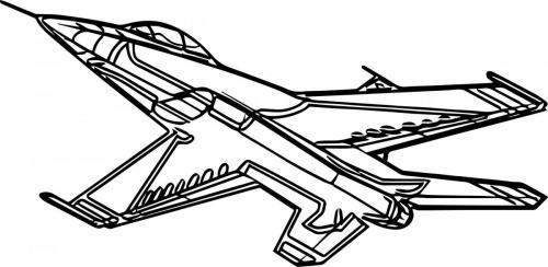 aeroplano stilizzato