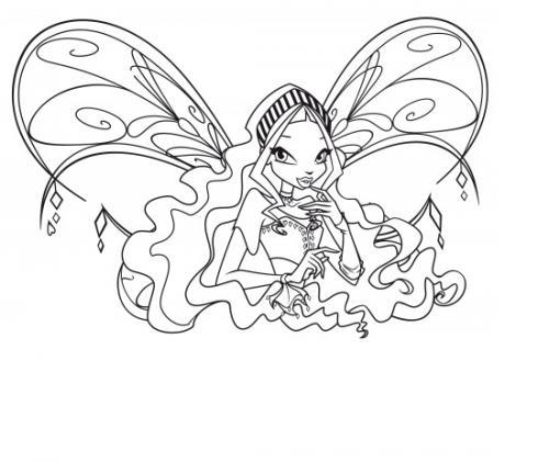 Aisha con le ali