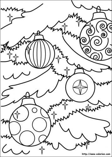 Palline sull'albero di Natale