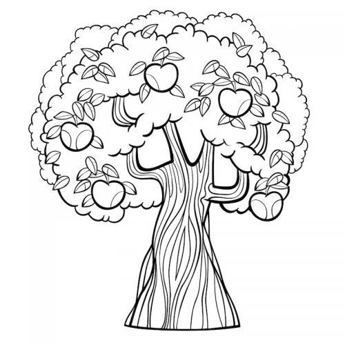 Albero Disegno Da Colorare 70 Immagini Da Stampare Gratis A Tutto Donna