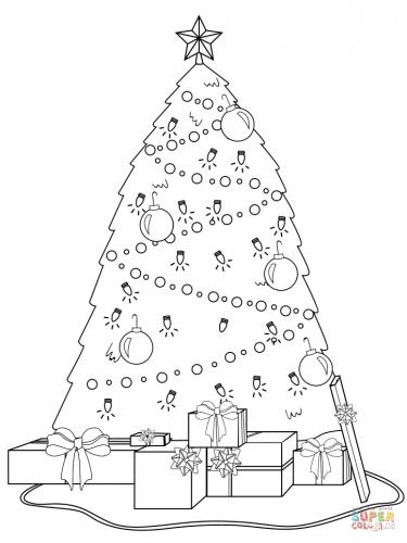 albero con i regali