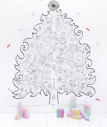 albero di natale disegni
