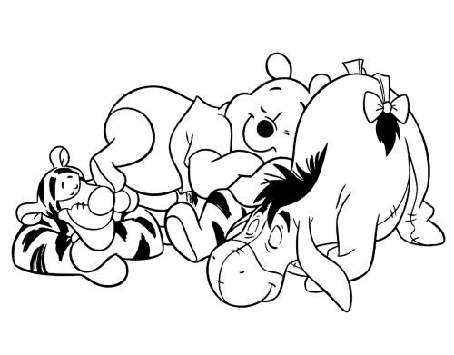 amici winnie pooh