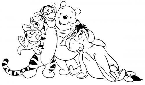 amici winnie the pooh