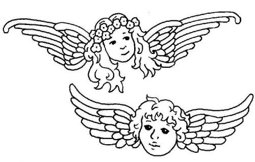 angeli tatuaggio