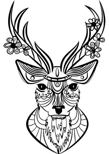 cervo mandala